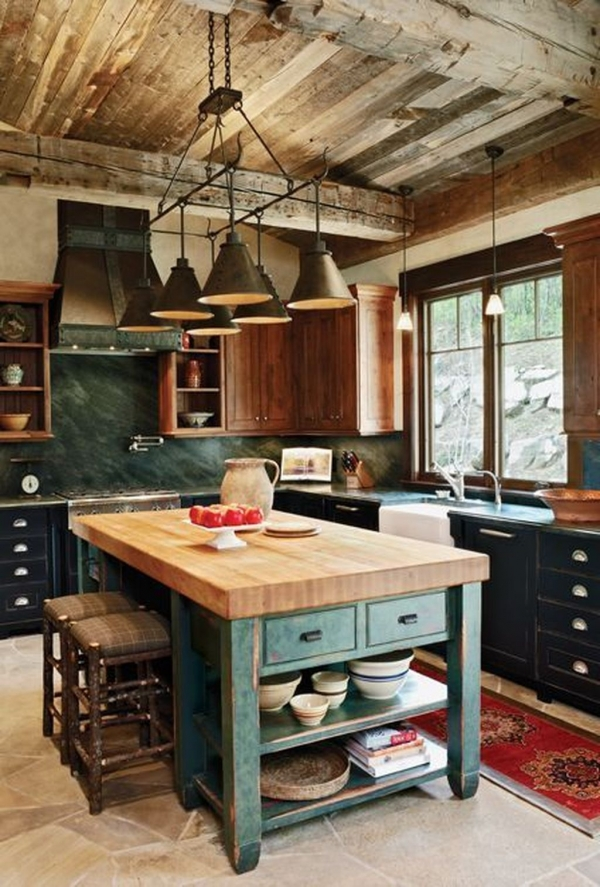 90 Rural Kitchen Ideas for Small Kitchens Look Luxurious 6246