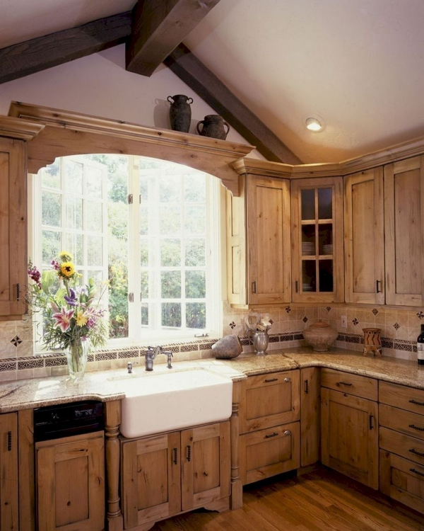 90 Rural Kitchen Ideas for Small Kitchens Look Luxurious 6167