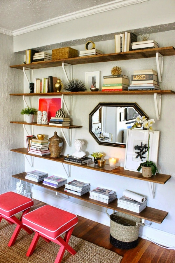 91 Most Popular Wall Shelf Ideas for Your Home Decoration-3461