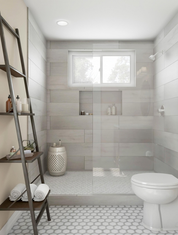 95 Beautiful Walk In Shower Ideas for Small Bathrooms 5635