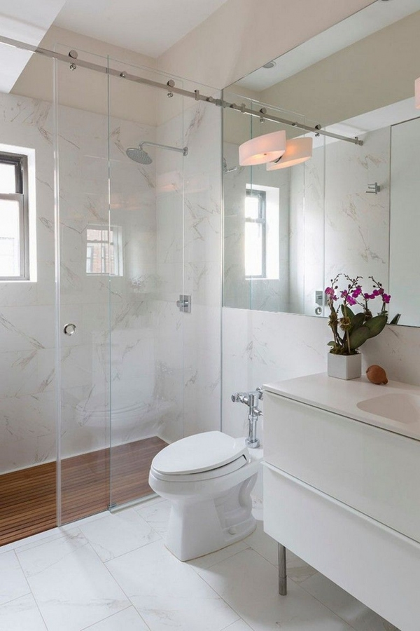 99 Beautiful Bathroom Shower Decoration - Look at them-3613
