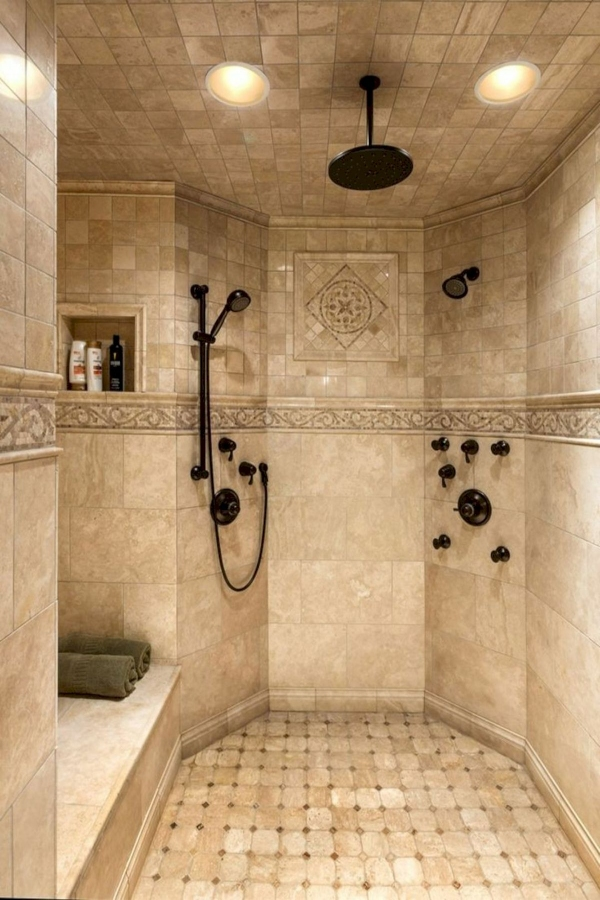 99 Beautiful Bathroom Shower Decoration - Look at them-3655
