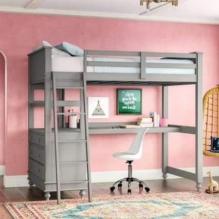 ✔️ Why Bunk Beds With Stairs And Desk 21