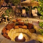 37 Most Popular Backyard Fire Pits Design Ideas- A Perfect Way to Entertain Guests 7086