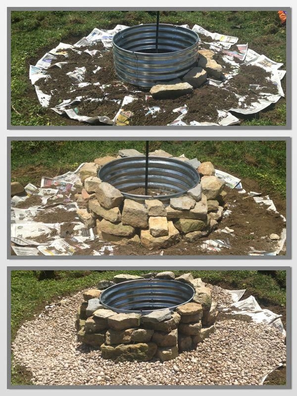 37 Most Popular Backyard Fire Pits Design Ideas- A Perfect Way to Entertain Guests 7056