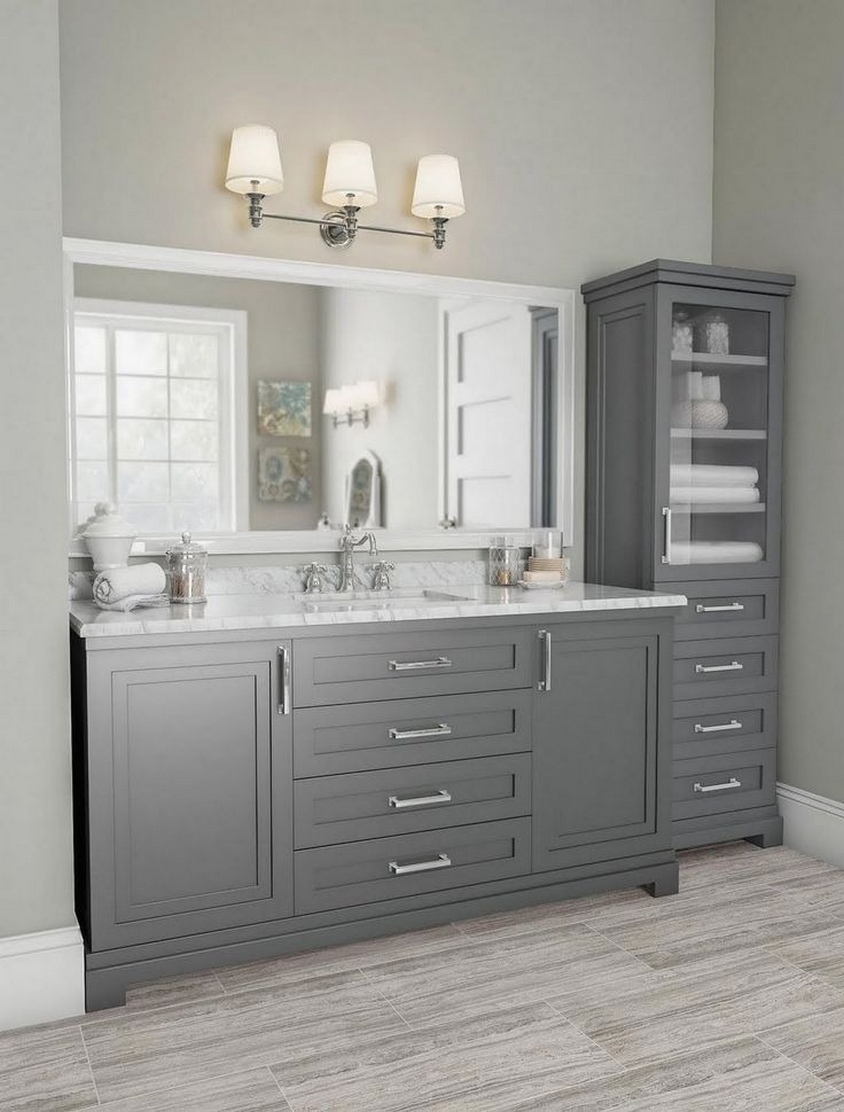 49 Small Bathroom Storage Decoation Ideas Here's How To Get All The Space You Need 9