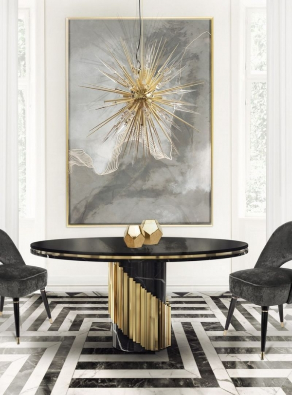 97 Most Popular Of Modern Dining Room Tables In A Contemporary Style 6852