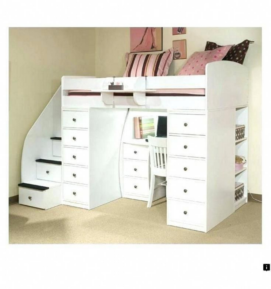 30+ Bunk Beds Design Ideas With Desk Areas Help To Make Compact Bedrooms Bigger 2