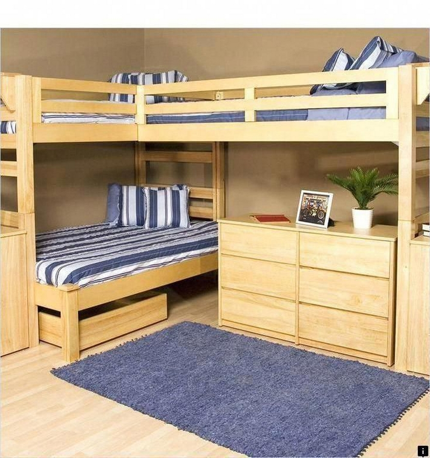 30+ Bunk Beds Design Ideas With Desk Areas Help To Make Compact Bedrooms Bigger 29