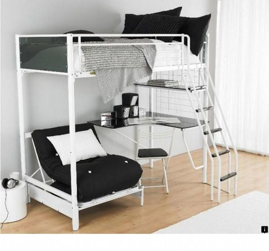 30+ Bunk Beds Design Ideas With Desk Areas Help To Make Compact Bedrooms Bigger 5
