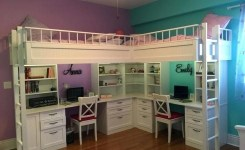 39 Amazing Bunk Beds With Desk Design Ideas Tips Choosing Bunk Beds With Desks 9