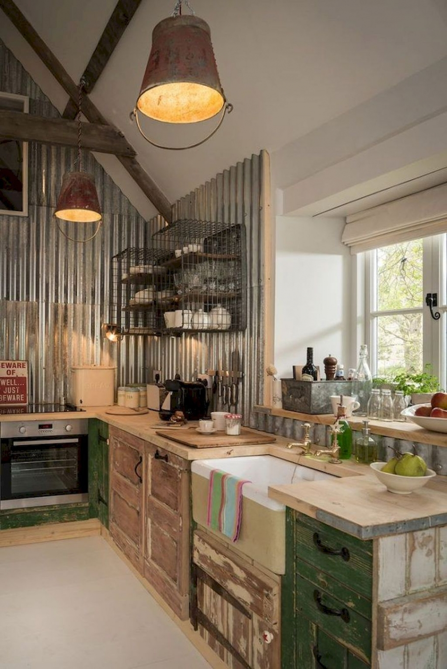 80 Best Rustic Kitchen Design You Have to See It-8969