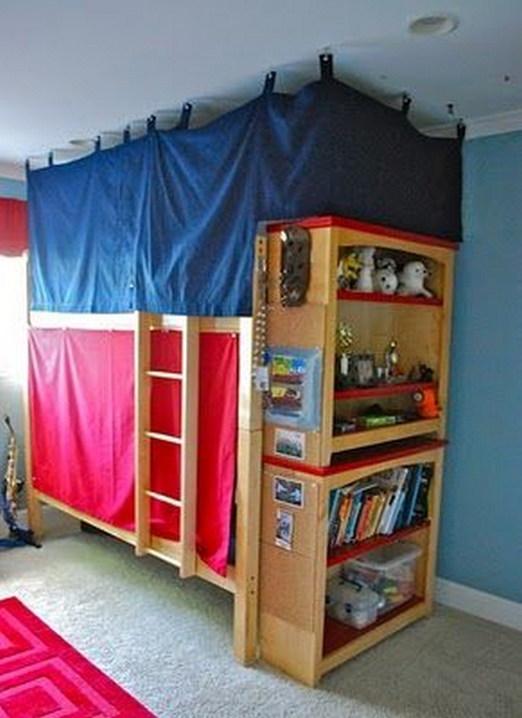 82 Amazing Models Bunk Beds With Guard Rail On Bottom Ensuring Your Bunk Bed Is Safe For Your Children 41