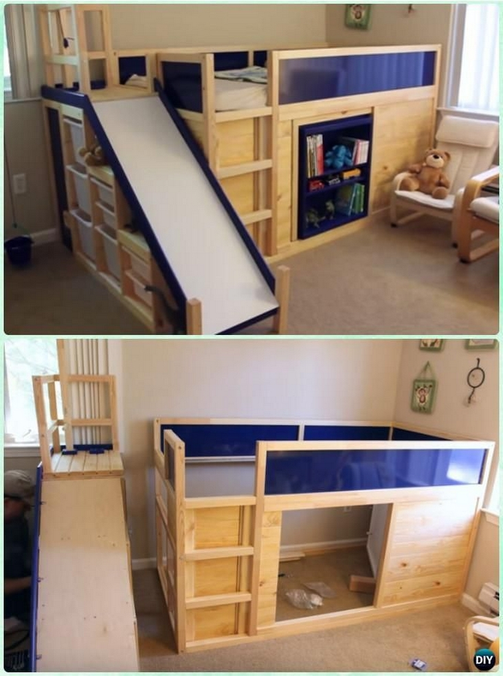 82 Amazing Models Bunk Beds With Guard Rail On Bottom Ensuring Your Bunk Bed Is Safe For Your Children 79