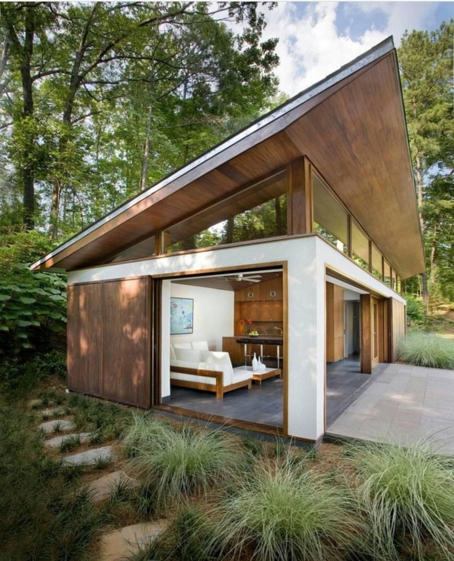 86 Modern Shed Design Looks Luxury to Complement Your Home-9448