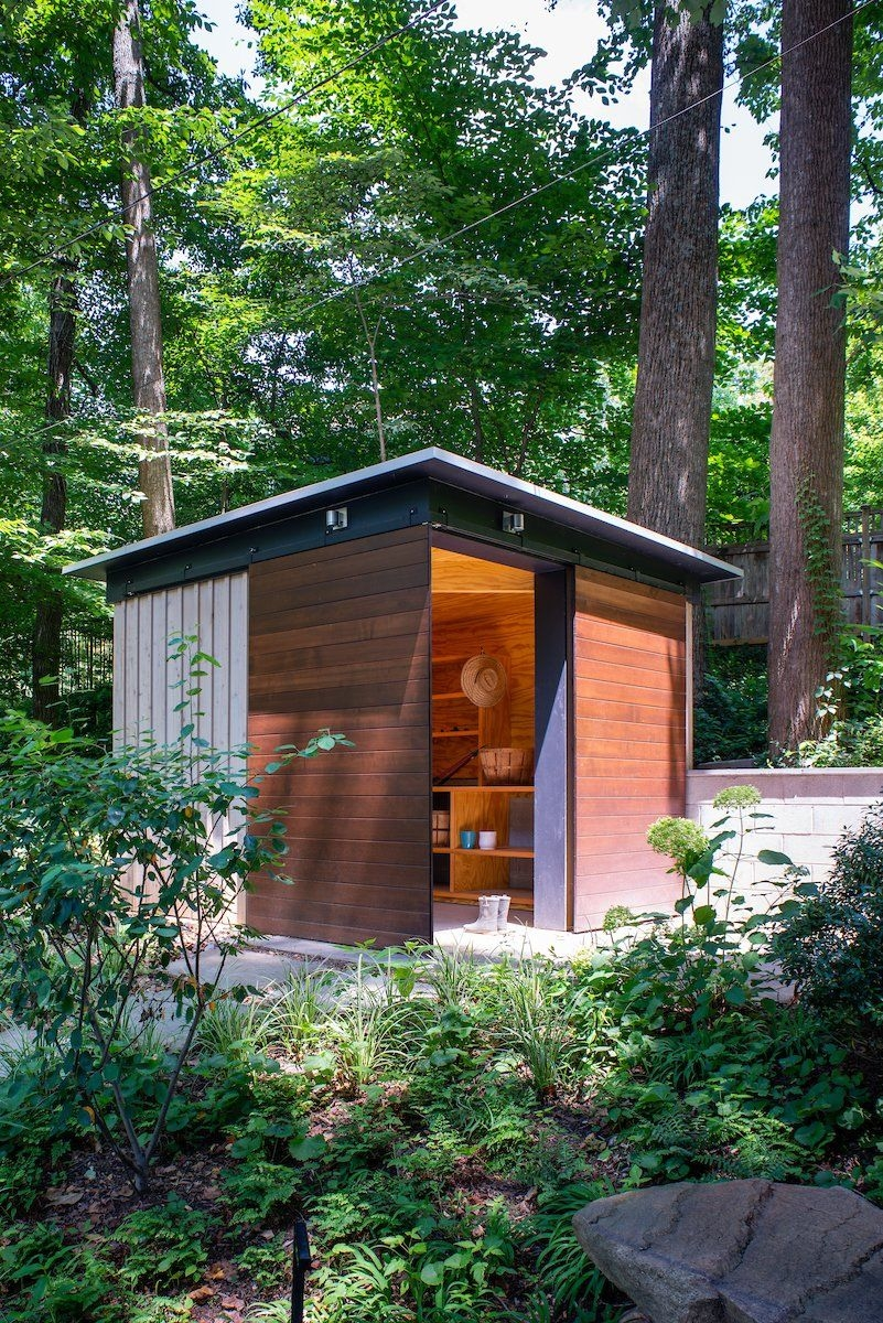 86 Modern Shed Design Looks Luxury to Complement Your Home-9457