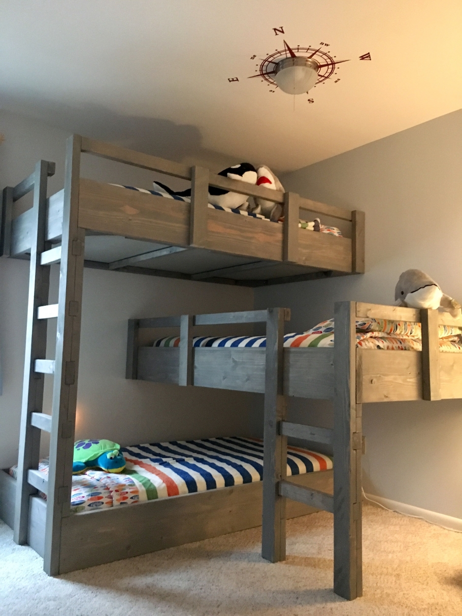 Permalink to 90 top Picks for A Triple Bunk Bed for Kids Rooms