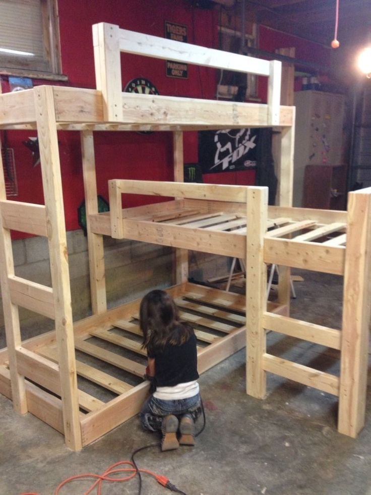 94 Minimalist Bunk Beds Design Ideas - Tips for Designing the Space-10199