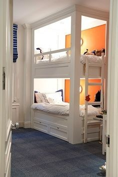 94 Minimalist Bunk Beds Design Ideas - Tips for Designing the Space-10201