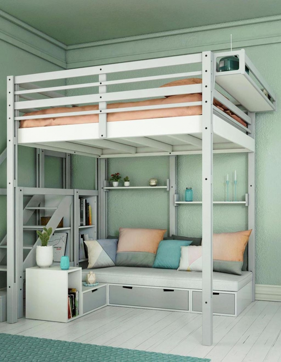 94 Minimalist Bunk Beds Design Ideas - Tips for Designing the Space-10224