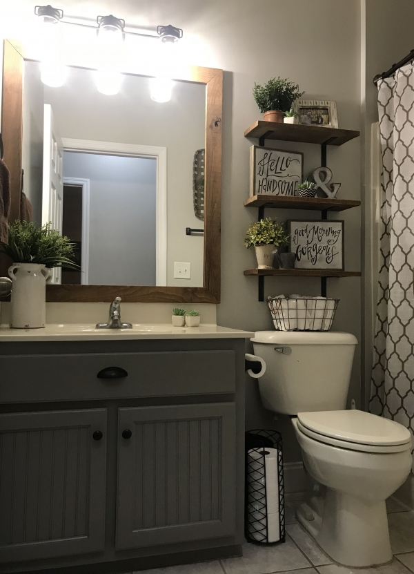 96 Inspiration for Small Bathroom Design Ideas - Tips for Renovating A Small Bathroom On A Budget-7813