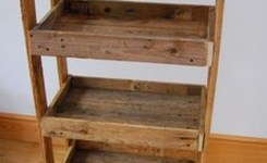 99 Fantastic Models Of Wooden Pallet Shelves For Your Woodworking Project Inspiration (52)