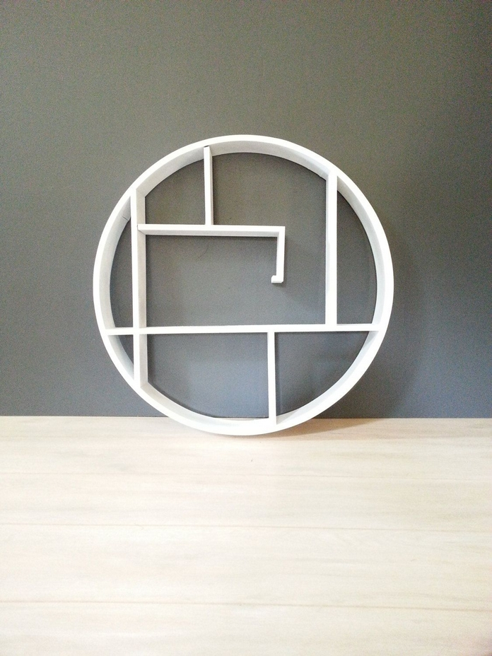 89 Models Beautiful Circular Bookshelf Design For Complement Of Your Home Decoration 12
