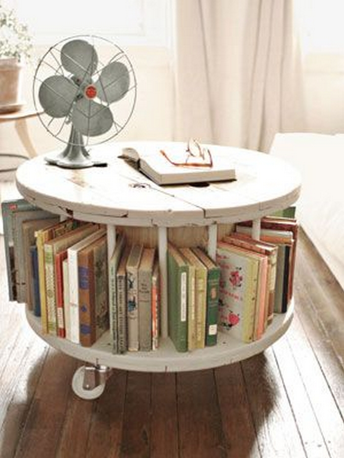 89 Models Beautiful Circular Bookshelf Design For Complement Of Your Home Decoration 13