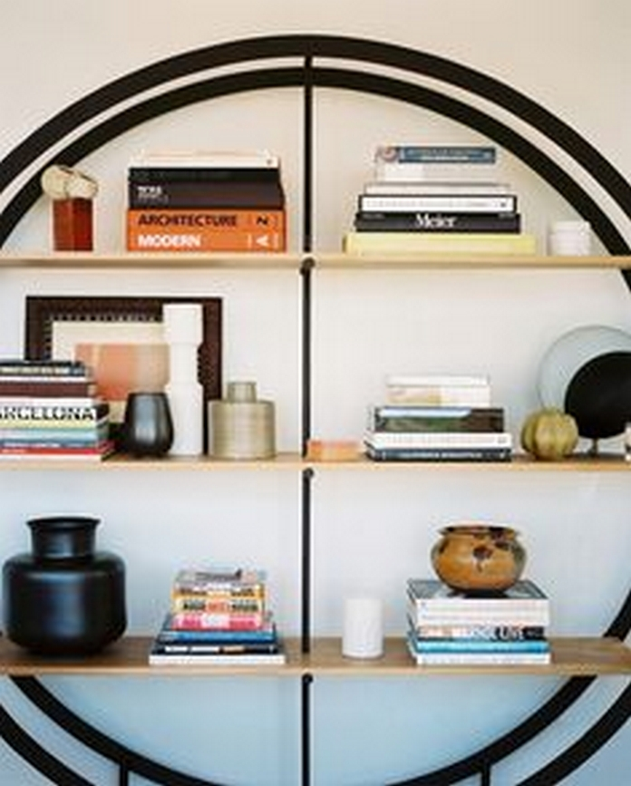 89 Models Beautiful Circular Bookshelf Design For Complement Of Your Home Decoration 22