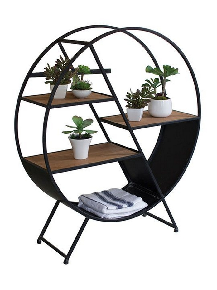 89 Models Beautiful Circular Bookshelf Design For Complement Of Your Home Decoration 33