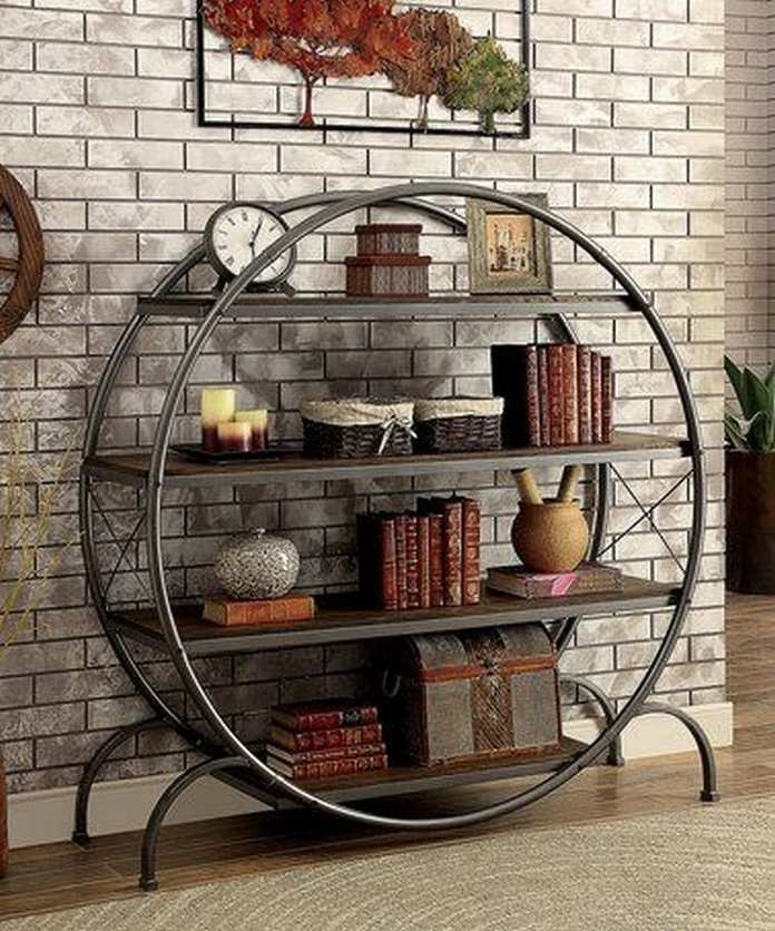 89 Models Beautiful Circular Bookshelf Design For Complement Of Your Home Decoration 58