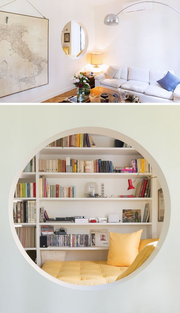 89 Models Beautiful Circular Bookshelf Design For Complement Of Your Home Decoration 61