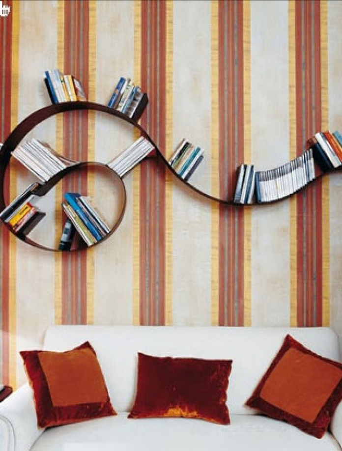 89 Models Beautiful Circular Bookshelf Design For Complement Of Your Home Decoration 86