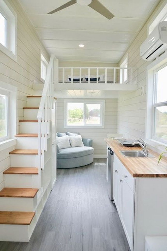 97 Cozy Tiny House Interior Are You Planning For Enough Storage 37