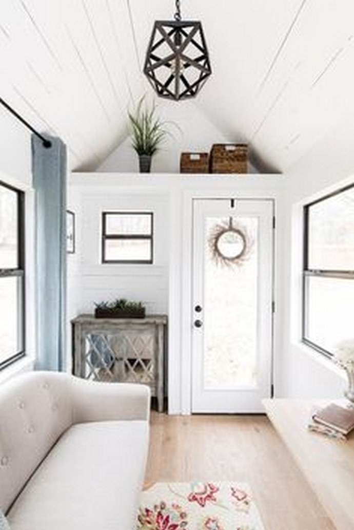 97 Cozy Tiny House Interior Are You Planning For Enough Storage 65