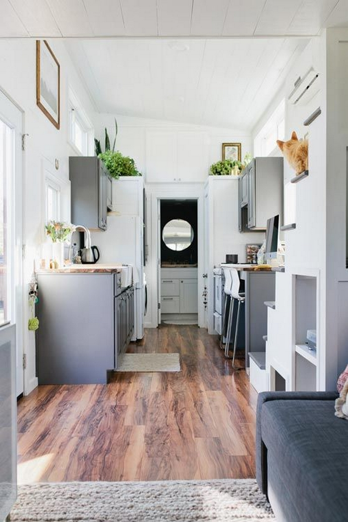 97 Cozy Tiny House Interior Are You Planning For Enough Storage 67