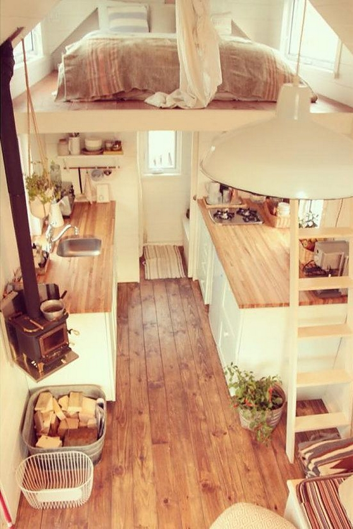 97 Cozy Tiny House Interior Are You Planning For Enough Storage 79