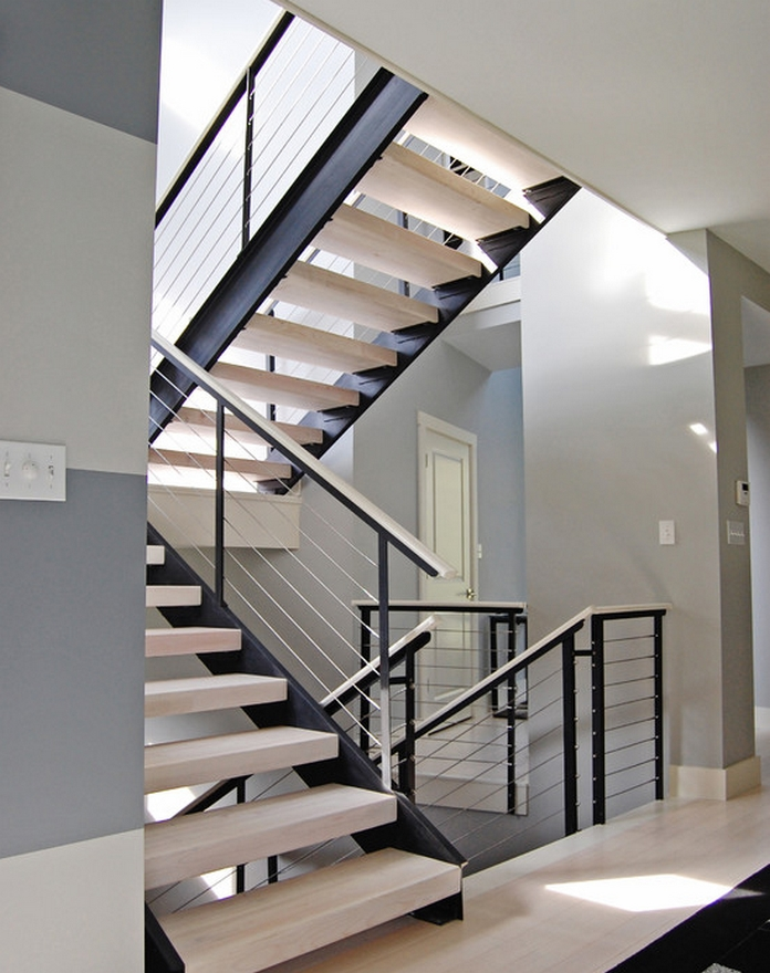 97 Most Popular Modern House Stairs Design Models 4