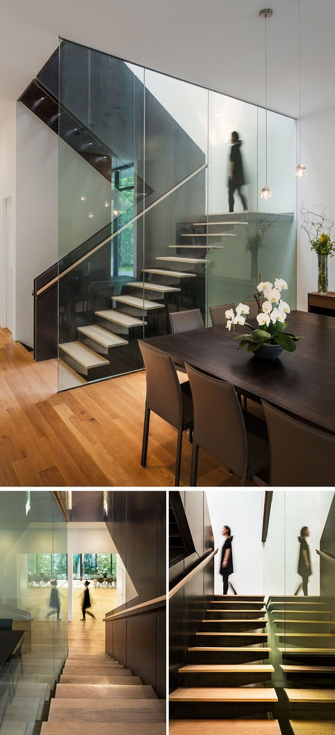 97 Most Popular Modern House Stairs Design Models 75