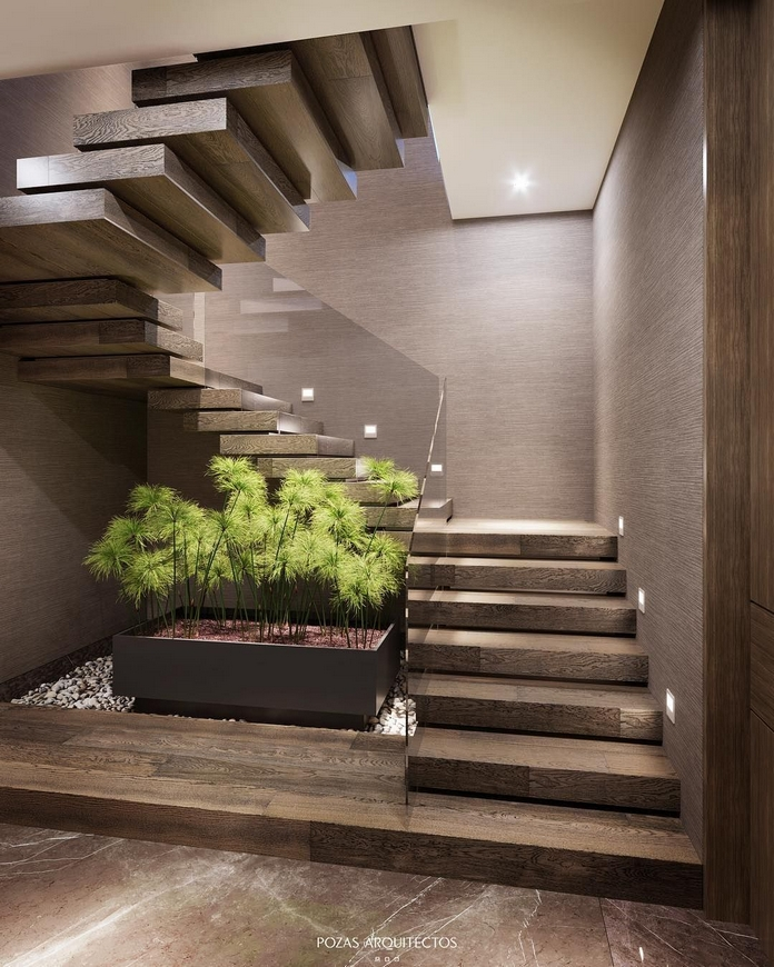 97 Most Popular Modern House Stairs Design Models 92