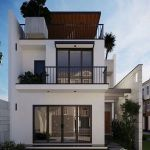 60 Choices Beautiful Modern Home Exterior Design Ideas 21
