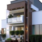 60 Choices Beautiful Modern Home Exterior Design Ideas 4