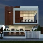 60 Choices Beautiful Modern Home Exterior Design Ideas 57