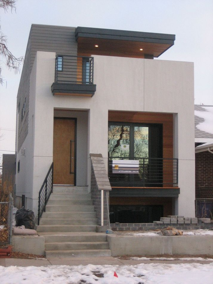 70+ Most Popular Modern Flat Roof House Design 29