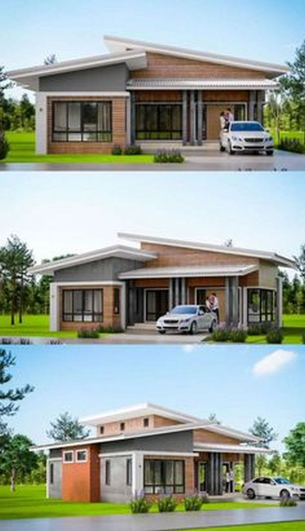 70+ Most Popular Modern Flat Roof House Design 32