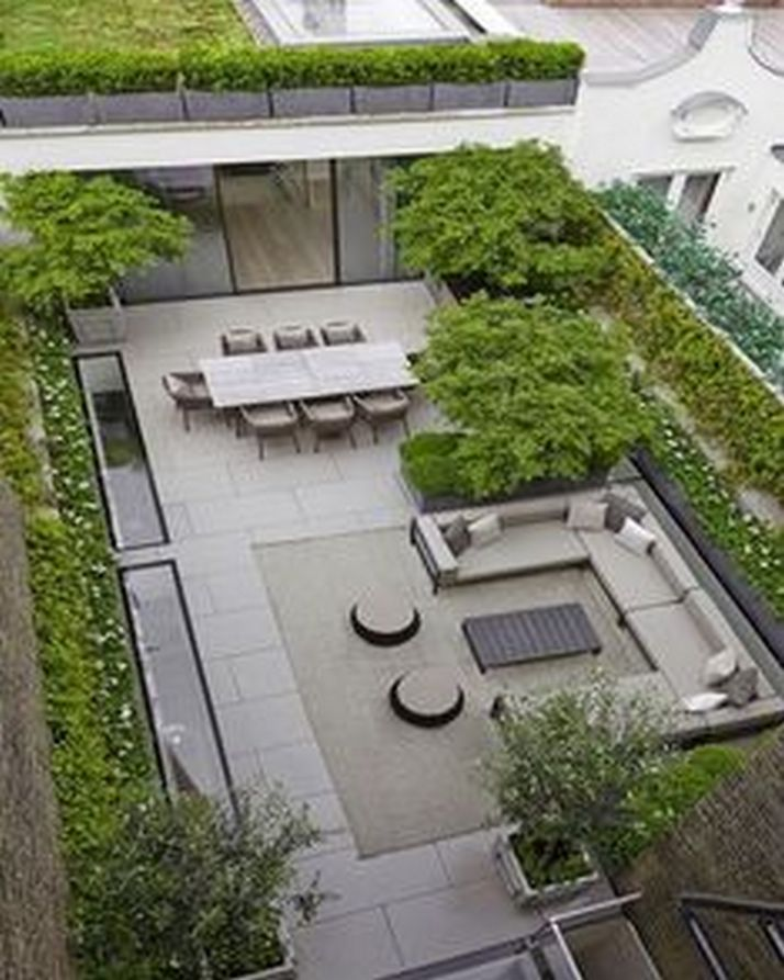 70+ Most Popular Modern Flat Roof House Design 57