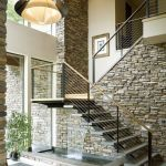 95 Cool Modern Staircase Designs For Homes (19)
