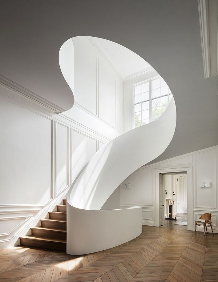 95 Cool Modern Staircase Designs For Homes (90)