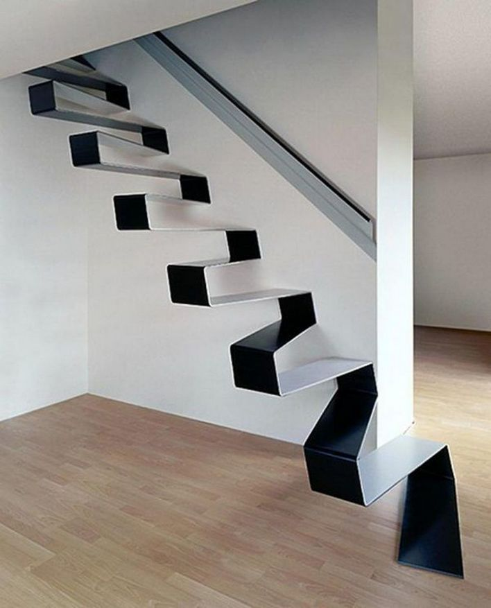 95 Cool Modern Staircase Designs For Homes (91)