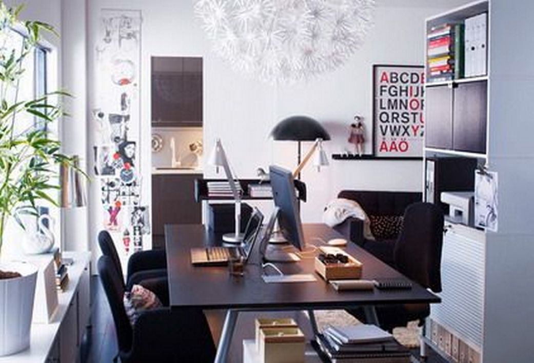 96 Modern Home Office Design Looks Elegant 27